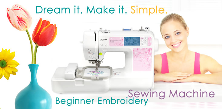 Beginner Embroidery Sewing Machine