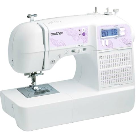 Brother 100-Stitch Computerized Sewing Machine with Alphabet Font-SQ9050