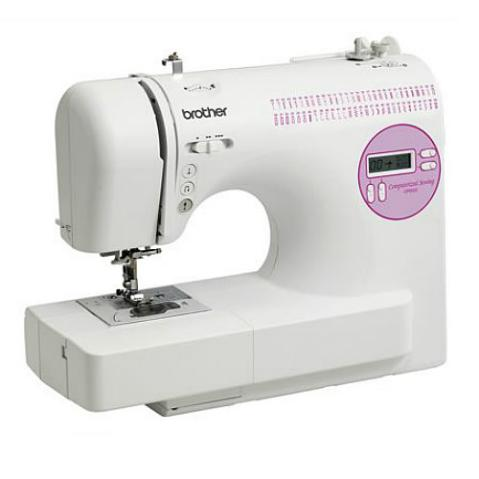 Brother 60-Stitch Computerized Sewing Machine, CP6500